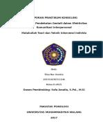 Laporan Praktikum Konseling Interin Kelas D 1