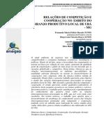 2- Relações de competição e cooperação no âmbito do arranjo produtivo local de Ubá-MG (EEGEP 2011)
