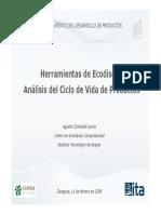 Ecodiseño Análisis CVP