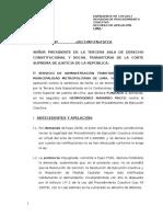 Procedimiento de EJECUCIÓN COACTIVA N° 144-2017