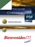 Técnicas de Comunicación - Carlos de la Rosa Vidal
