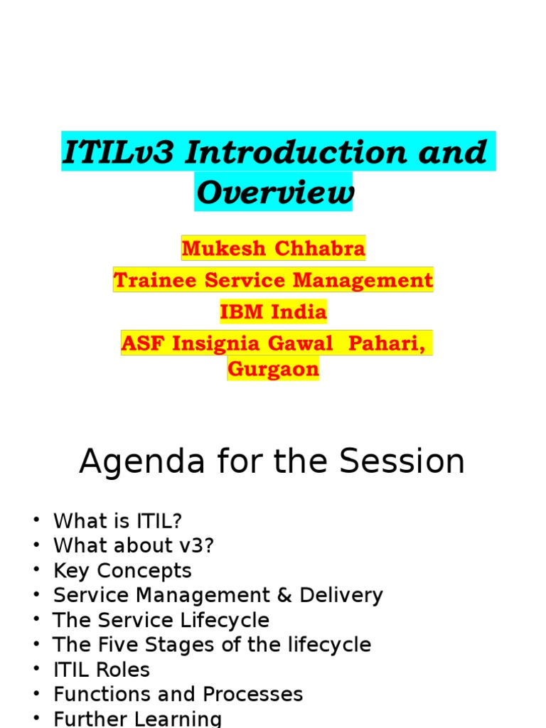 Comprehensive ppt guide on itil itil business process xflitez Gallery