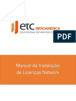 [Procedimento] Instalação de Licenças Network