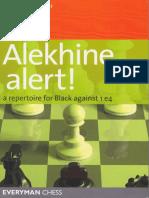 Alekhine Alert! a Repertoire for Black Against 1 e4