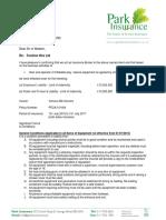 Park Insurance Public Liability for Funtime Hire Ltd