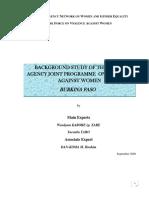 Version Anglaise de l Etude de Base VEF 2009-Ud