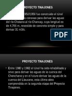 Cronología Del Proyecto Tinajones