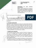 Recurso de Nulidad N° 1377-2014-Lima