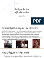copy of bridging the gap of racial tension
