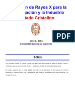 DRX Estado Cristalino
