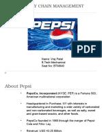35492024 Supply Chain Management Pepsi