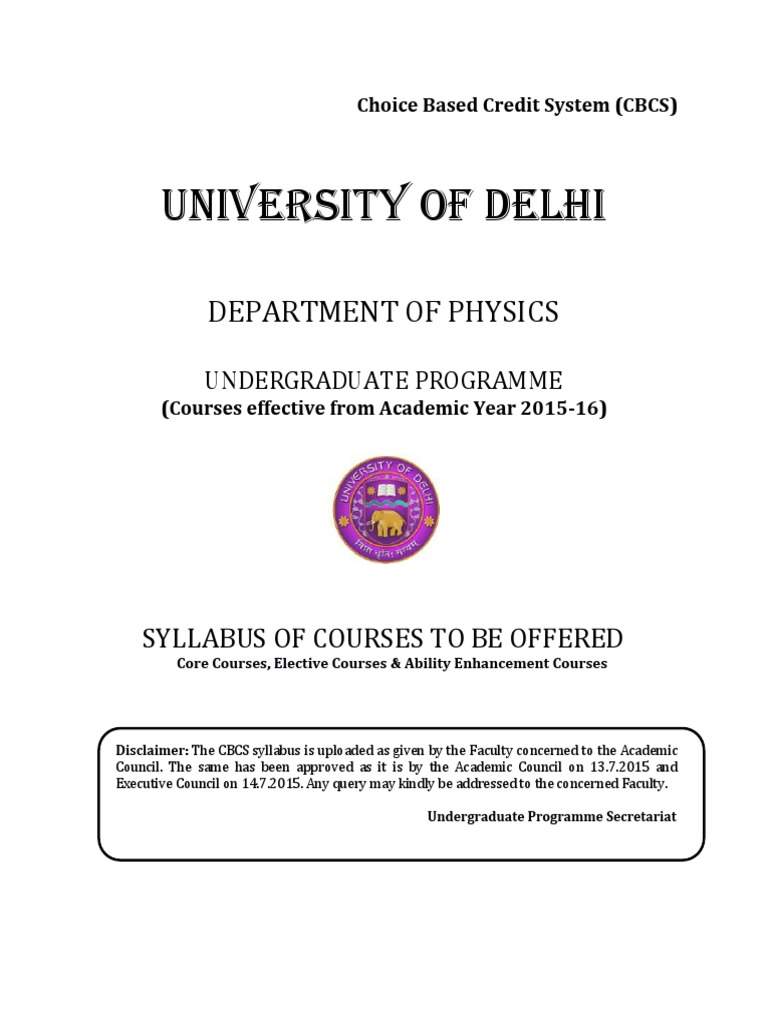 Physics In Bsc Programmepdf Magnetic Field Electric Knowledge Centre 555 Timer Ic Based Simple Project Blinking Led
