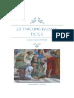 2D Tracking Kalman Filter
