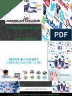 Trabajo de Redes Sociales on- Line