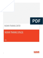 Radwin Training Catalog v3.1