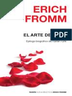 Erich Fromm - El Arte de Amar (1)