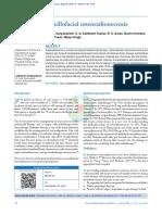 MAXILLOFACIAL OSTEORADIONECROSIS