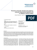 Reduction of benzylic alcohols and α-hydroxycarbonyl compounds by hydriodic acid in a biphasic reaction medium