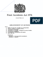 Fatal Accidents Acts of 1976