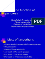 The Endocrine Functions of the Pancreas4923 160122104950
