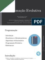 Programação Evolutiva