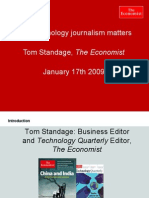 Tom Standage, the Economist - Media Connected