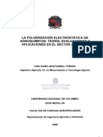 Pulverización electrostatica