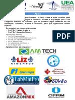 Poster Ibracon Patrocinadores