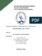 Informe Conafovicer,Spp y Sctr