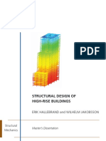 Structural Design of High Rise Buildings