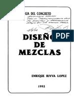 Diseño de Mezclas_enrique Rivva Lopez