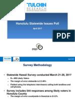 Hawaii PRP Honolulu GET-Issues Survey Presentation