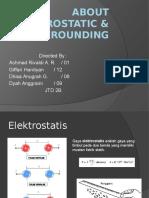 About Elektrostatic & Grounding
