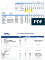 Convenios Empresas Matriz - Listado - Alumnos 2013-2016