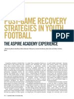 Aspire Youth Soccer Recovery