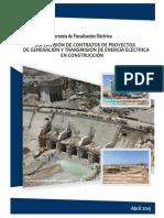 04.2015. Compendio Proyectos Generacion Transmision Electrica Construccion