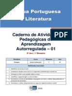 Lingua Portuguesa Regular Aluno Autoregulada 9a 1b