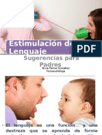Sugerencias Lenguaje para Padres