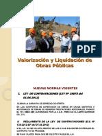 Sesión 05 - Valorización y Liquidación de Obras Públicas