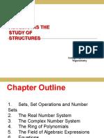 1.1 Sets, Set Operations and Number Sets