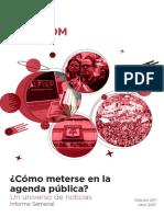 Labcom - Informe Semanal de Agenda Pública - Abril 17, Semana 2