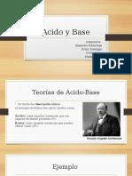 Acido y Base