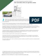 Brasileiro Cria Irrigador Solar Automático Feito Com Garrafas Usadas - Engenharia é