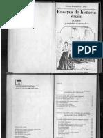 Ensayo de Historia Social Tomo 1, Jaime Jarramillo Uribe