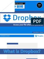 [Made Easy] How to Use Dropbox  - Tutorial for beginners.