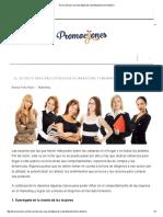 El Secreto Para Una Estrategia de Marketing Femenino Efectivo
