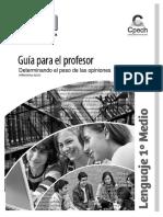 GPR Determinando El Peso de Las Opiniones
