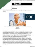 Ni El FMI Cree en El Relato Del Gobierno