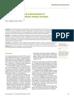 Autismo Importancia de La Dismorfología en La Identificacion de Entidades Medicas