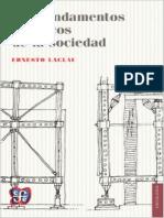 Laclau Ernesto - Los Fundamentos Retoricos De La Sociedad.pdf
